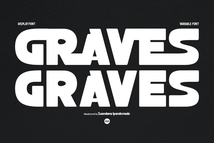 Graves - Display Sans Family