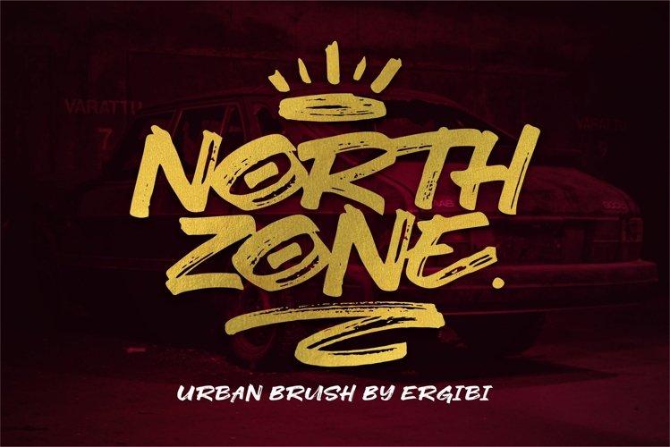 NORTH ZONE. //Urban Brush// example image 1