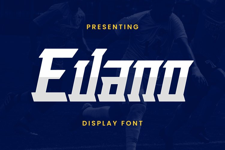 Evano Font example image 1