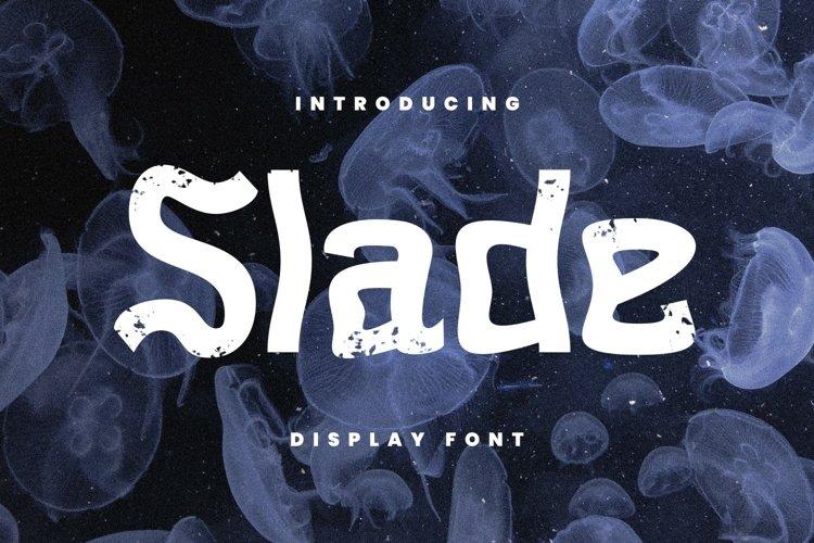 Slade Font example image 1