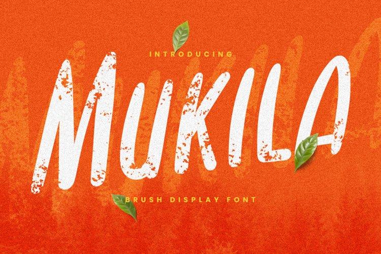 Mukila Font example image 1
