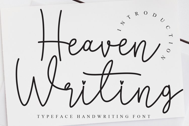 Heaven Writing example image 1
