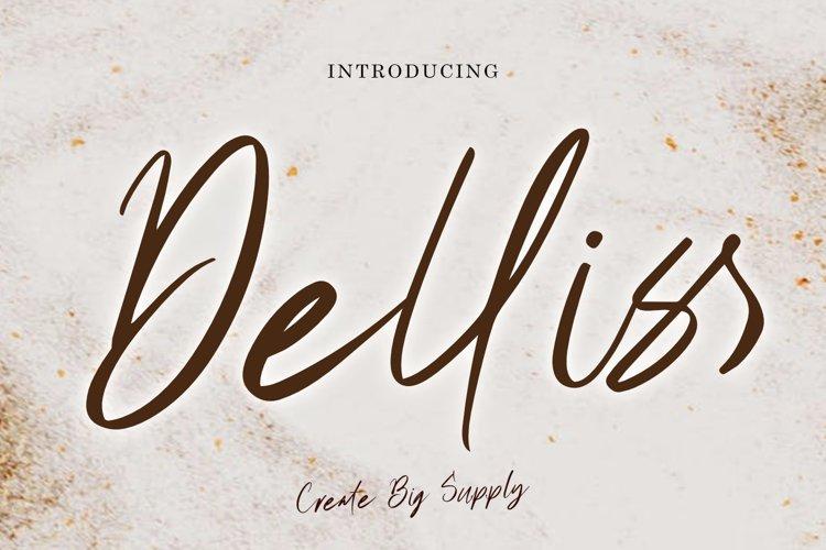 Delliss Script Brush