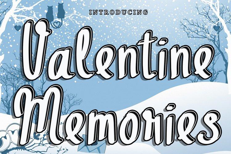 Valentine Memories example image 1