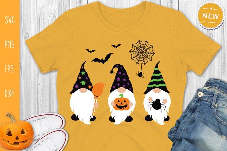 Halloween Gnomes Svg, Gnome Svg, Halloween Svg