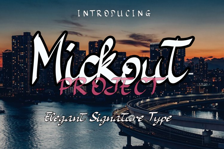 Mickout Project Cute and Quirky Font example image 1