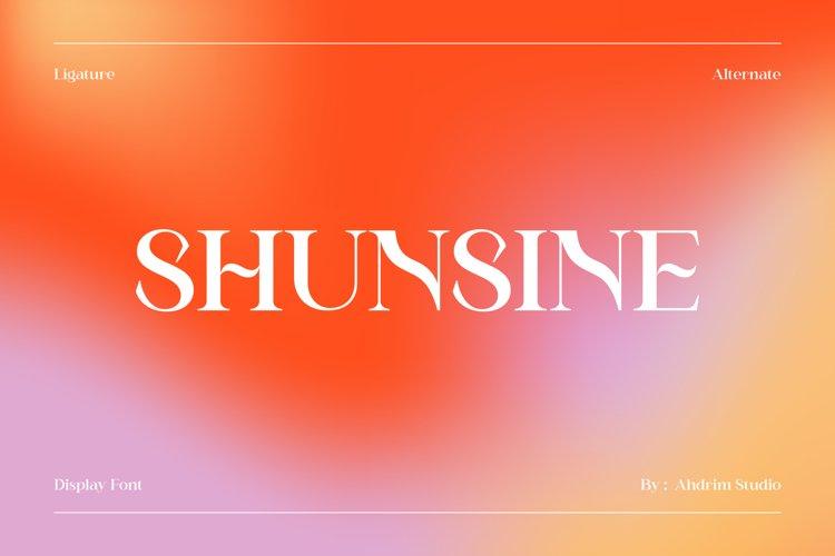 Shunsine example image 1