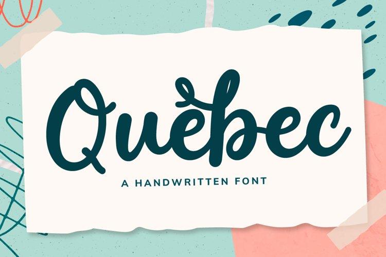 a Handwritten Script Font