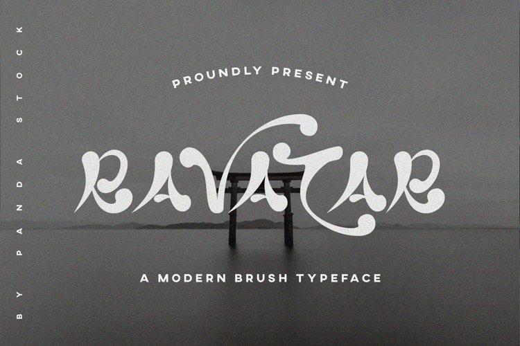 Ravatar Font example image 1