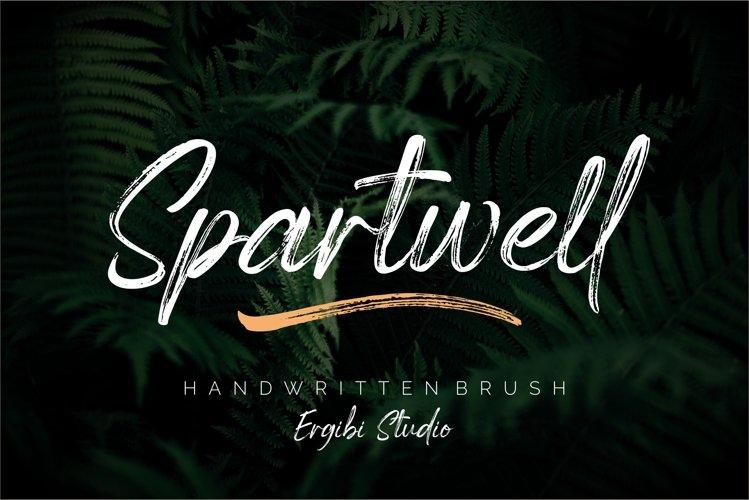 Spartwell |HANDWRITTEN BRUSH| example image 1