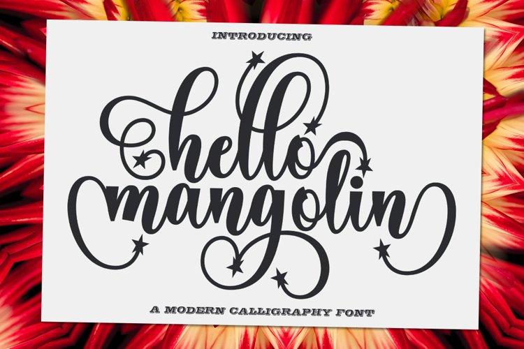 Hello Mangolin