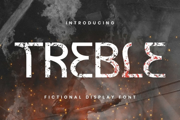 Treble Font example image 1