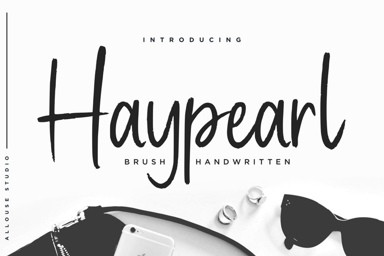 Haypearl Font example image 1