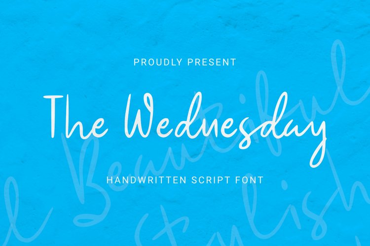 The Wednesday Font example image 1