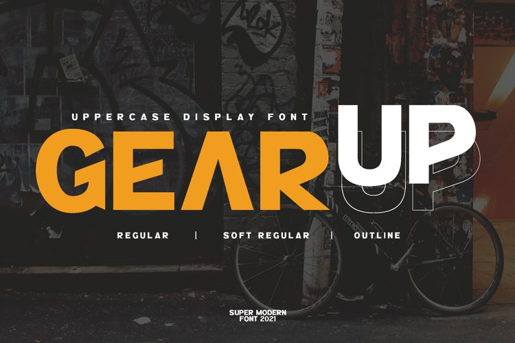 GearUp Sporty Font example image 1