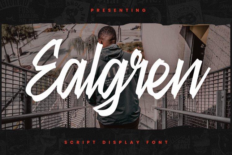 Ealgren Font example image 1