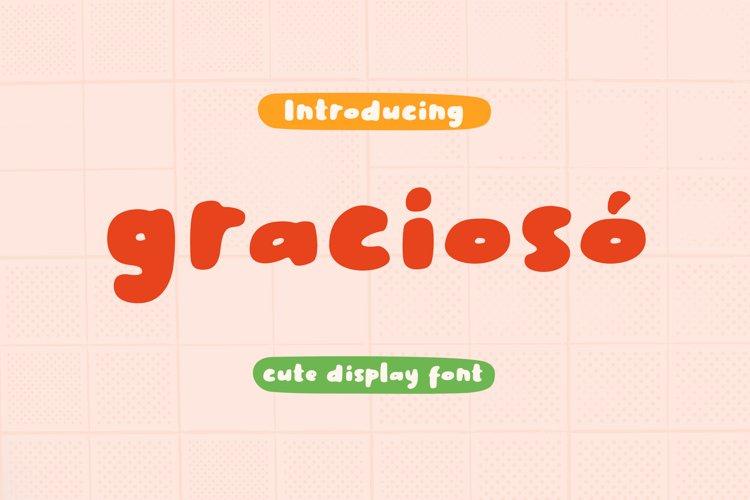 Gracioso Cute | INTRO SALE! example image 1