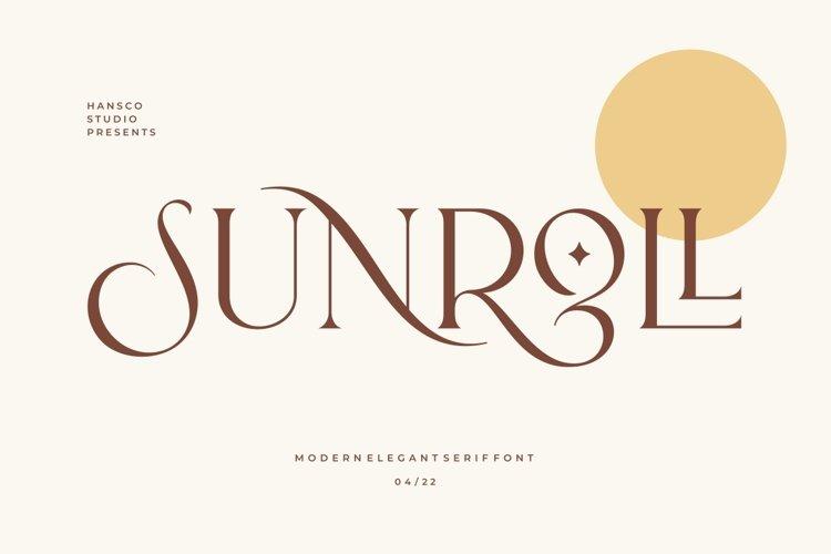 Sunroll example image 1