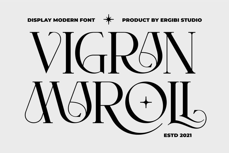VIGRAN MAROLL - Display Modern example image 1