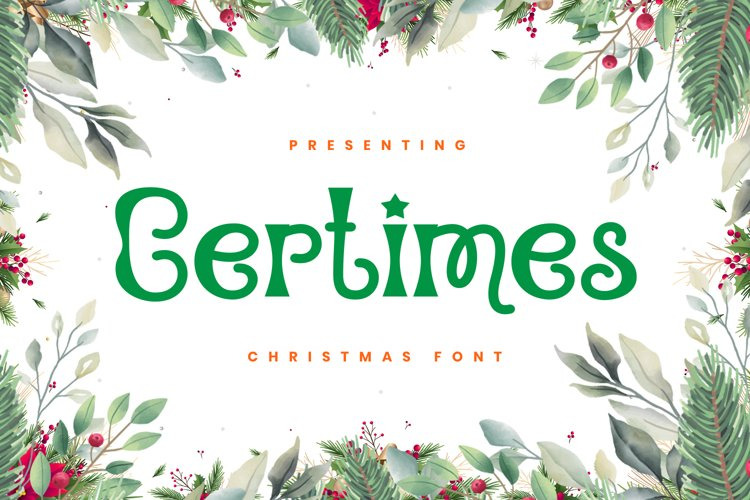 Certimes Font example image 1