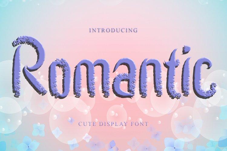 Romantic - script/ brush example image 1