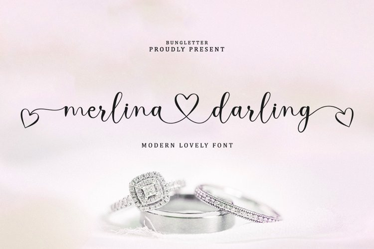 Merlina Darling - Lovely Font example image 1