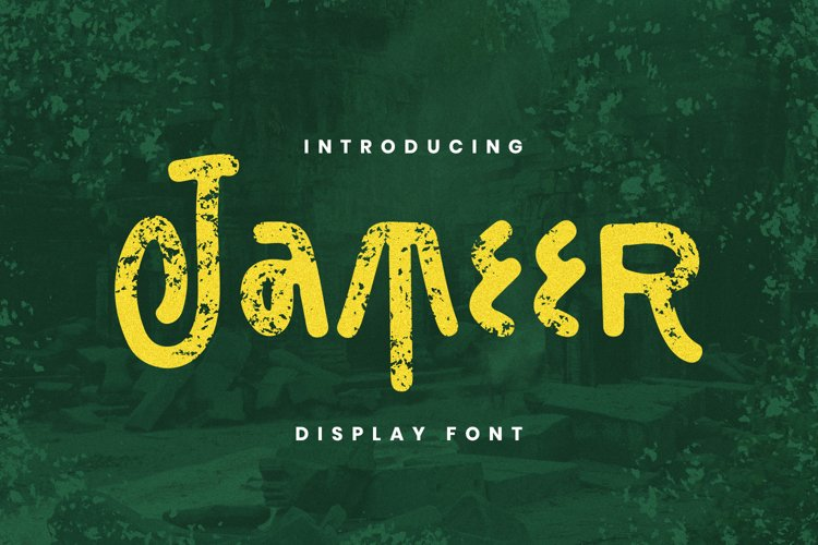 Jameer Font example image 1