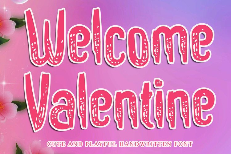 Welcome Valentine example image 1