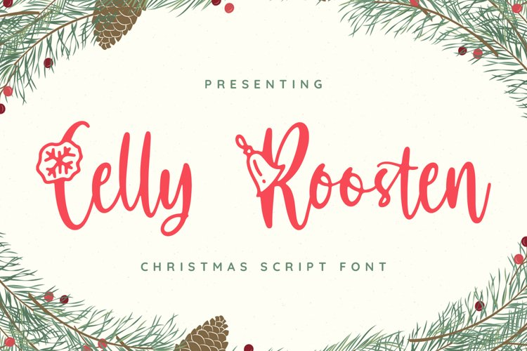CellyRoosten Font example image 1