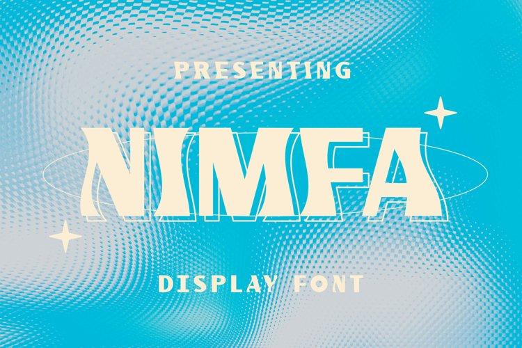 Nimfa Font example image 1