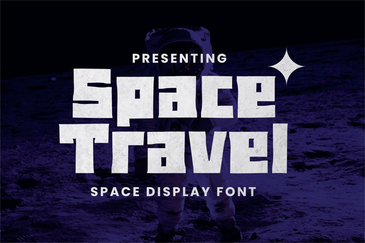Spacetravel Font example image 1