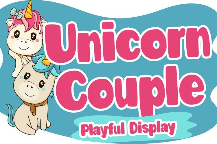 Unicorn Couple