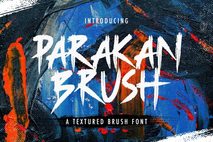 Parakan Brush - Display Brush Font example image 1