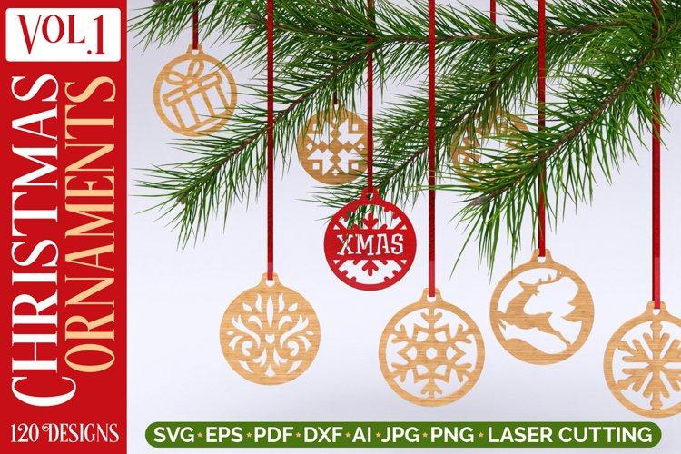Christmas Ornaments Vol.1 - 120 Laser Cut Files Bundle