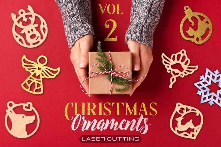 Christmas Ornaments Vol.2 - 120 Laser Cut Files Bundle