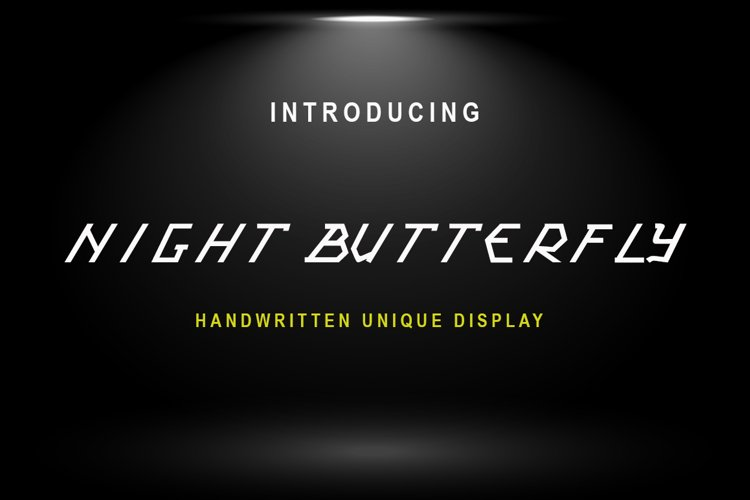 Night Butterfly example image 1