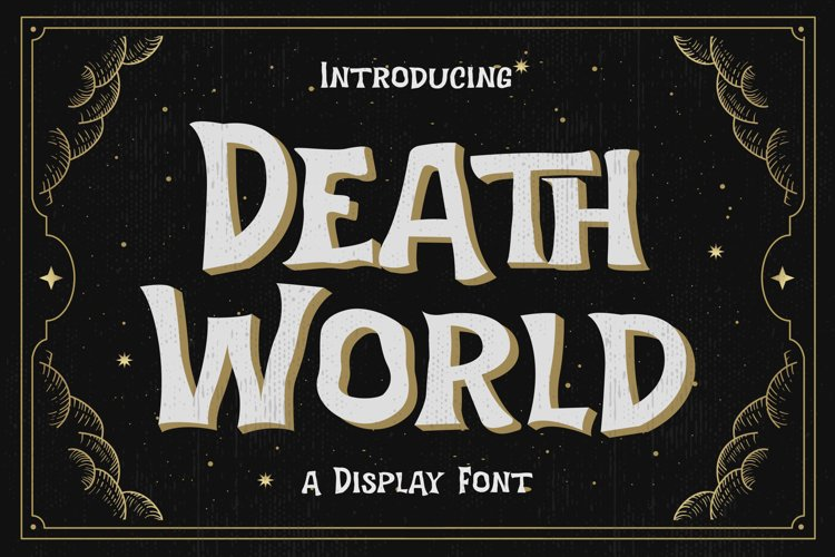 Death World - Display Font example image 1