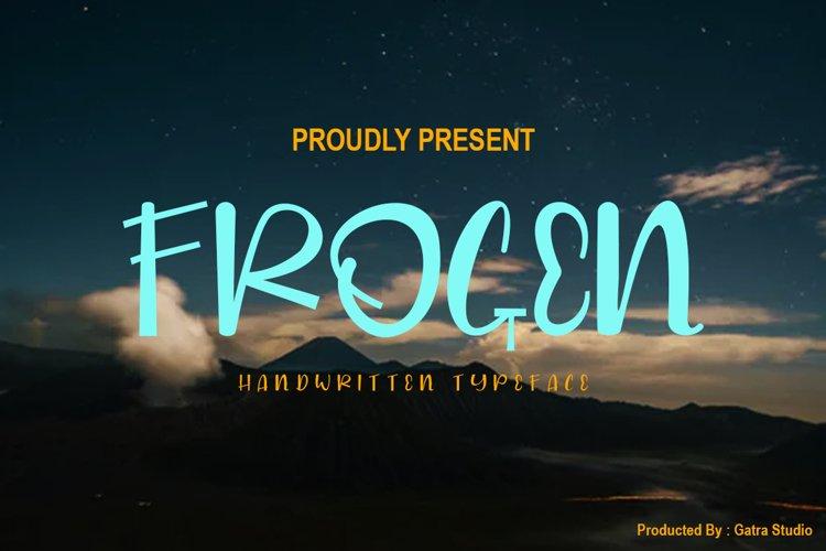 Frogen example image 1