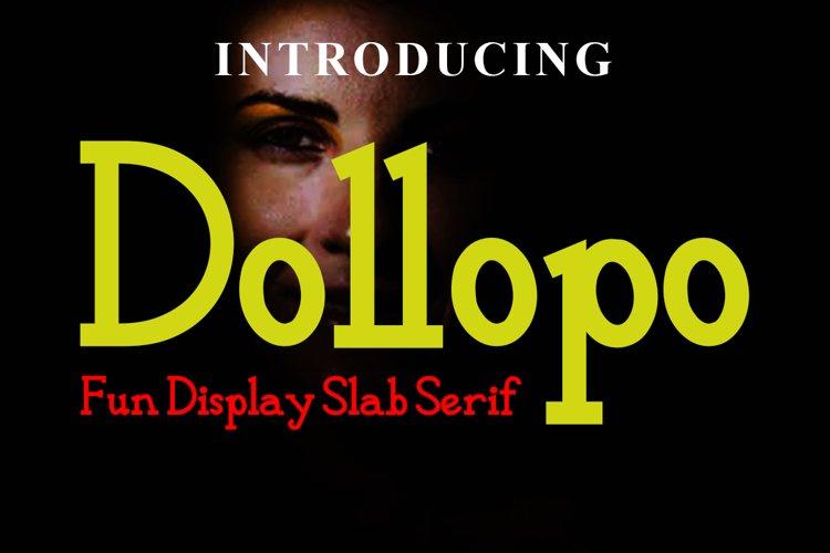 Dollopo Fun Display example image 1
