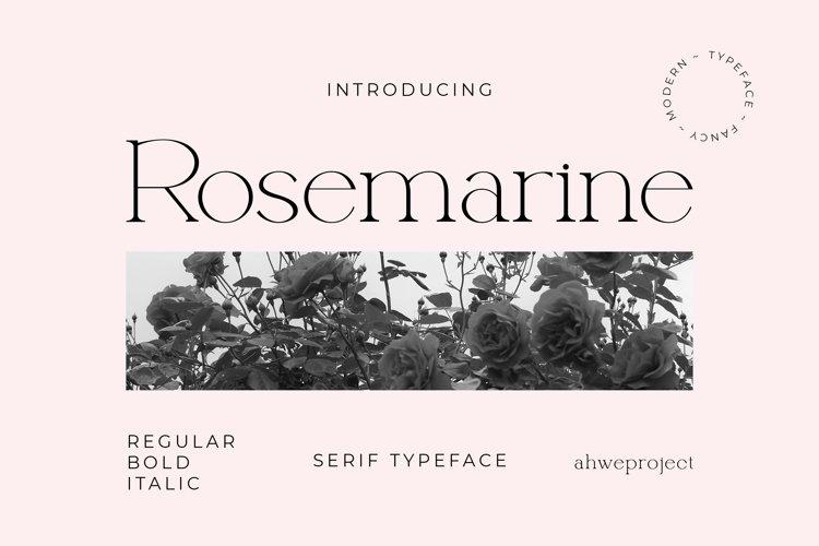 Rosemarine example image 1