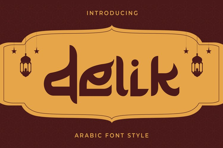 Delik - Arabic Font example image 1