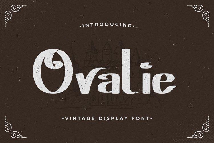Ovalie - Vintage Display Font example image 1