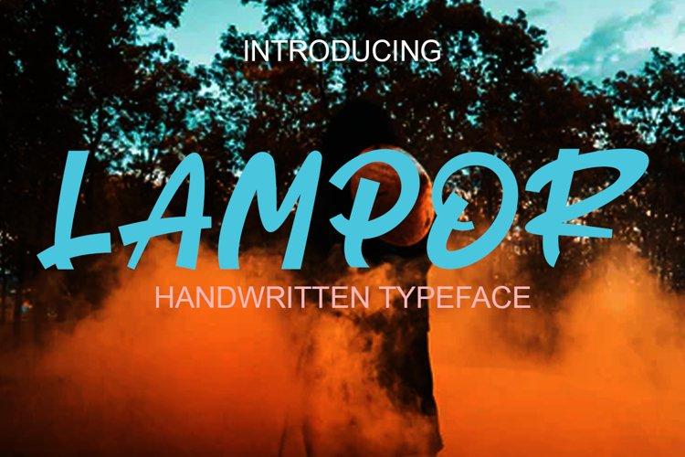 LAMPOR example image 1