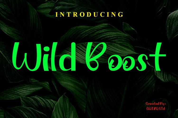 Wild Boost example image 1
