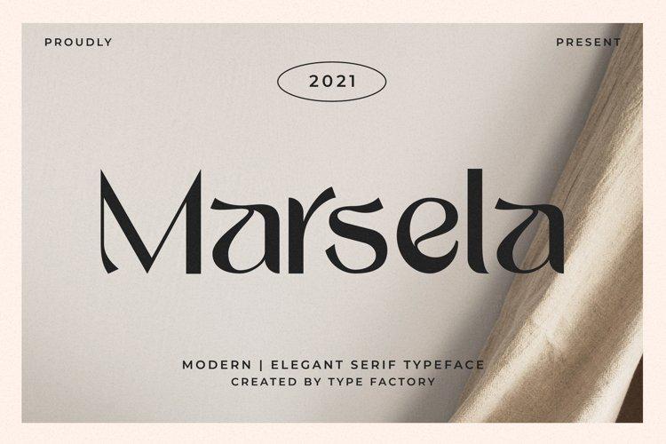 Marsela - Modern & Elegant Serif example image 1
