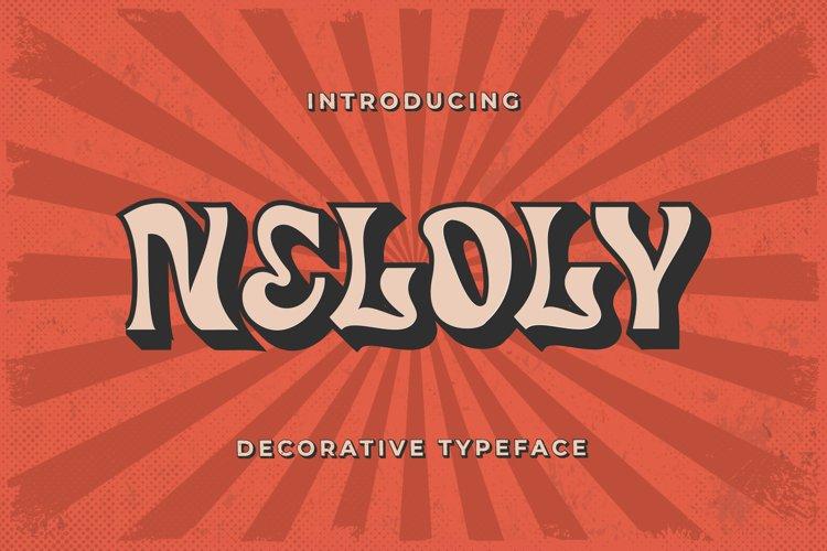 Neloly - Decorative Typeface example image 1