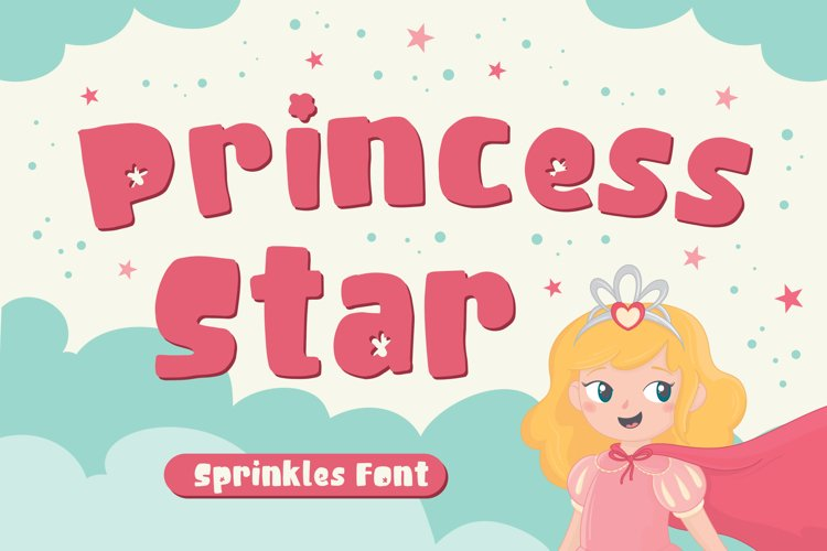Princess Star - Sprinkles Font example image 1