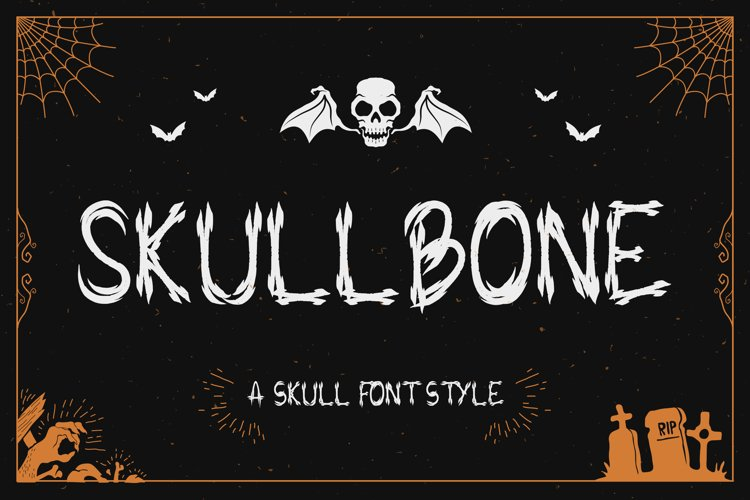 Skullbone - A Skull Font Style example image 1