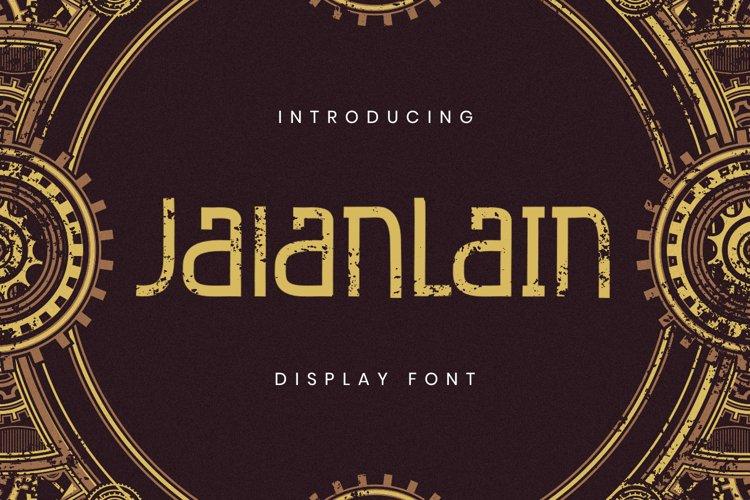 Jalanlain Font example image 1