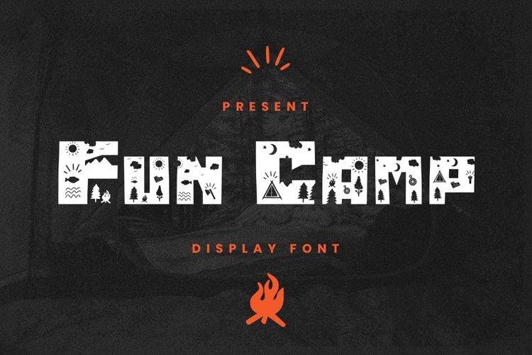 Fun Camp Font example image 1